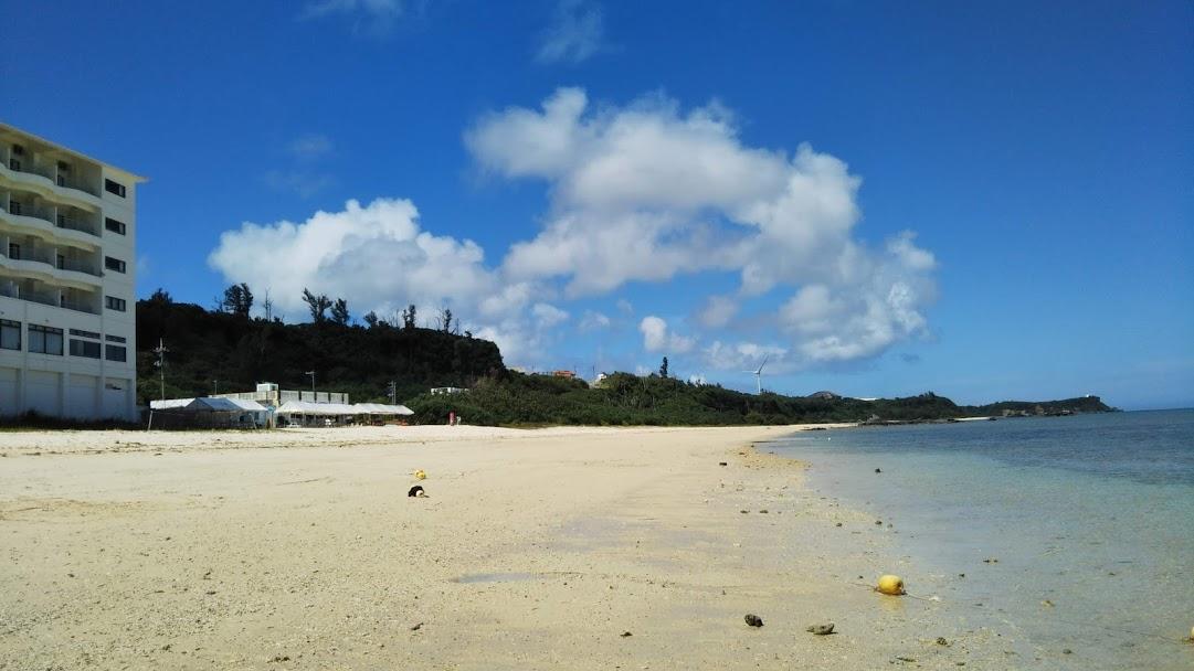 ベルパライソの砂浜